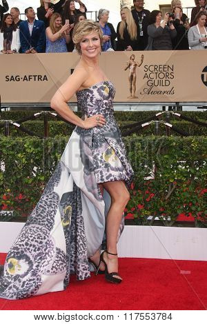 LOS ANGELES - JAN 30:  Melora Hardin at the 22nd Screen Actors Guild Awards at the Shrine Auditorium on January 30, 2016 in Los Angeles, CA