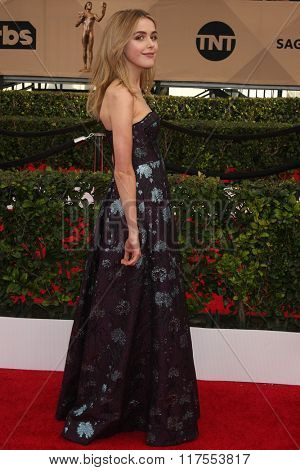 LOS ANGELES - JAN 30:  Kiernan Shipka at the 22nd Screen Actors Guild Awards at the Shrine Auditorium on January 30, 2016 in Los Angeles, CA