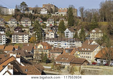 Townhouses In Bern, Switzerland