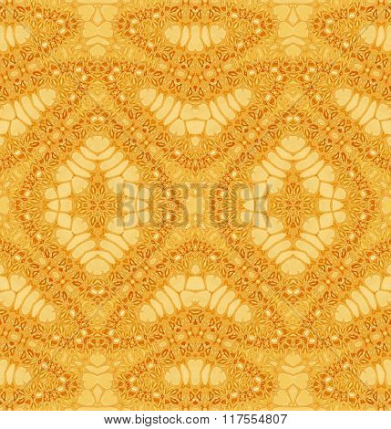 Seamless diamond pattern yellow