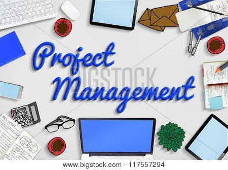 Project Management Planning Ideas Concept