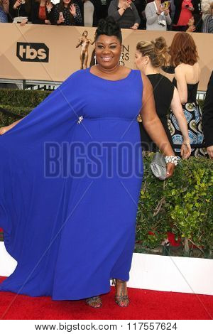 LOS ANGELES - JAN 30:  Adrienne C. Moore at the 22nd Screen Actors Guild Awards at the Shrine Auditorium on January 30, 2016 in Los Angeles, CA