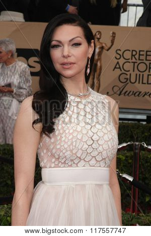LOS ANGELES - JAN 30:  Laura Prepon at the 22nd Screen Actors Guild Awards at the Shrine Auditorium on January 30, 2016 in Los Angeles, CA