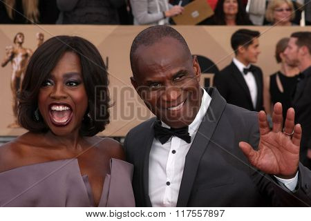 LOS ANGELES - JAN 30:  Viola Davis at the 22nd Screen Actors Guild Awards at the Shrine Auditorium on January 30, 2016 in Los Angeles, CA