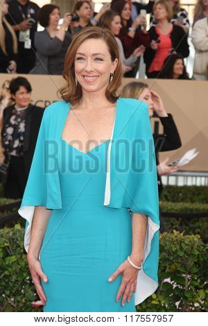 LOS ANGELES - JAN 30:  Molly Parker at the 22nd Screen Actors Guild Awards at the Shrine Auditorium on January 30, 2016 in Los Angeles, CA