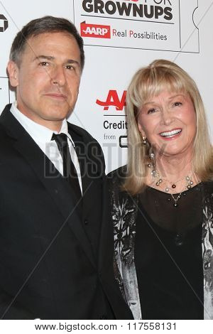 LOS ANGELES - FEB 8:  David O Russell, Diane Ladd at the 15th Annual Movies For Grownups Awards at the Beverly Wilshire Hotel on February 8, 2016 in Beverly Hills, CA