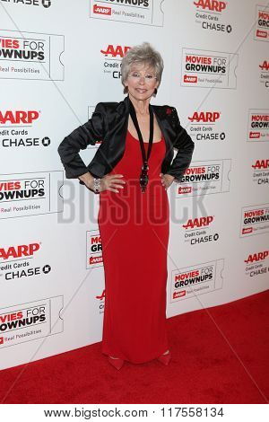 LOS ANGELES - FEB 8:  Rita Moreno at the 15th Annual Movies For Grownups Awards at the Beverly Wilshire Hotel on February 8, 2016 in Beverly Hills, CA