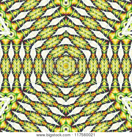 Seamless diagonal stripes pattern orange green beige