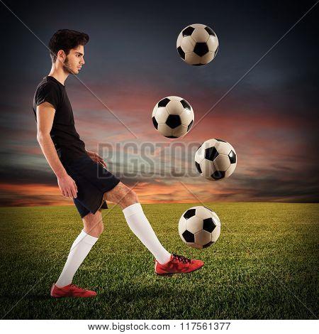 Footballer teenager