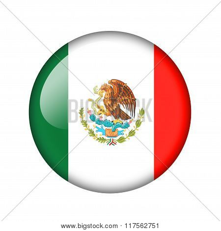 The Mexican flag
