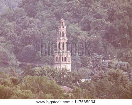 Moncanino Tower In San Mauro Italy Vintage