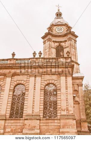 St Philip Cathedral, Birmingham Vintage