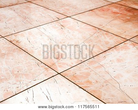 Retro Looking Marble Picture