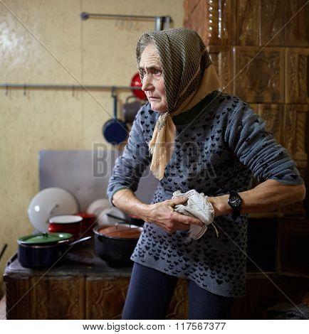 Old Woman Indoor