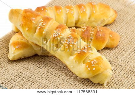 Bunch Of Sesame Pastry