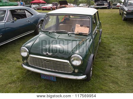 1981 Green Mini Car