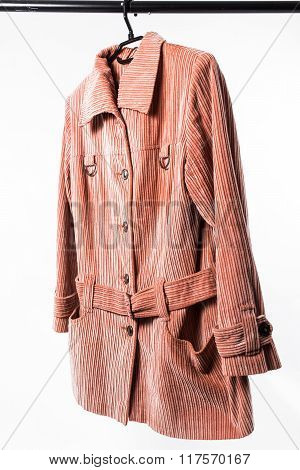 Female Jacket On Hanger