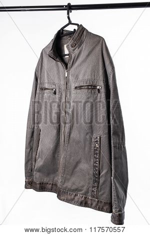 Male Jacket On Hanger