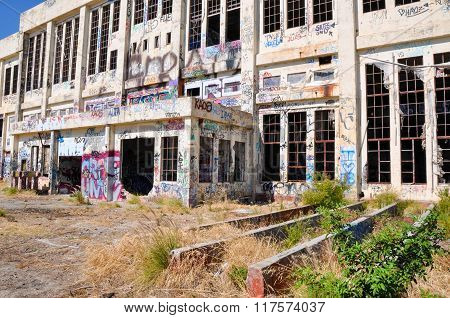 Old Power House: Exterior Tagging