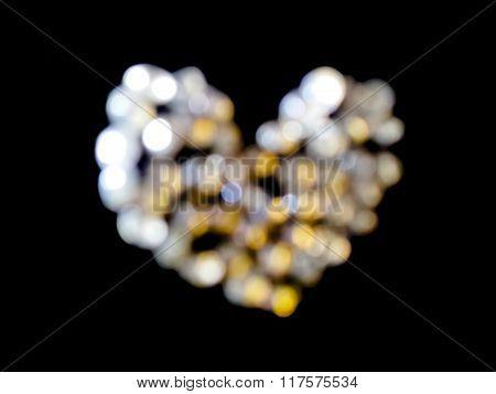 Blured Diamond Heart