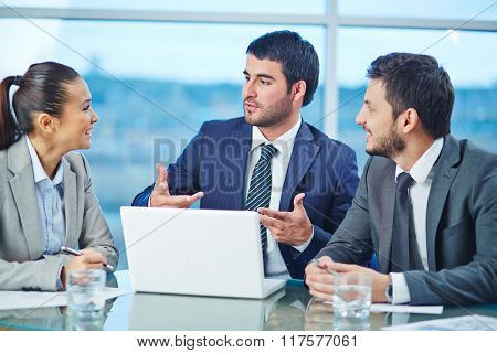 Explaining idea