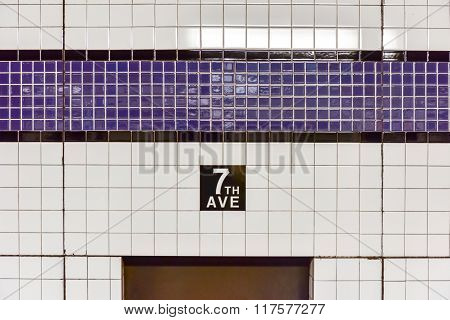 Seventh Avenue Station - New York City