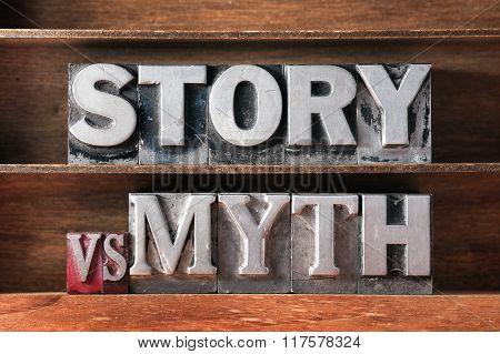 Story Vs Myth