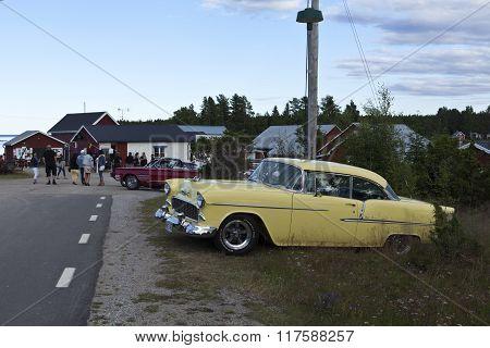 NORRFJARDEN, SWEDEN ON JULY 18