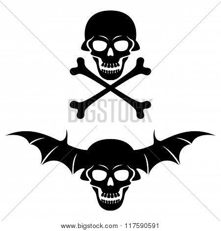 Sign of skull.