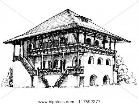 House exterior drawing