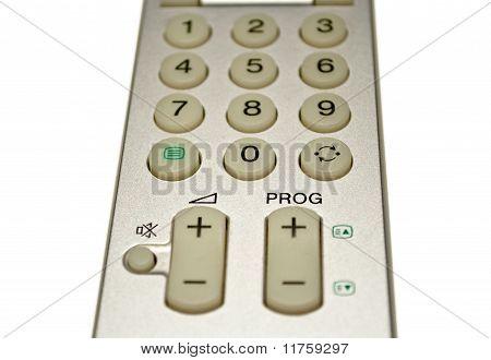 Metallic grey remote-control