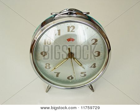 velho relógio de corda