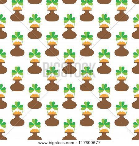 St.Patrick's Day Seamless Background