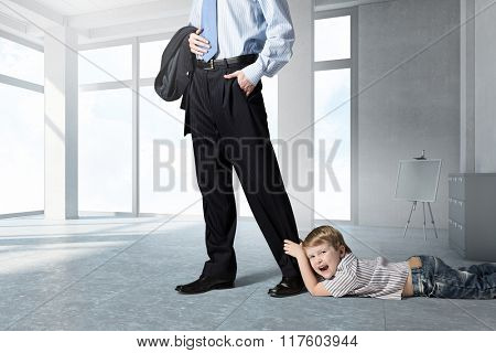 Don't go away daddy
