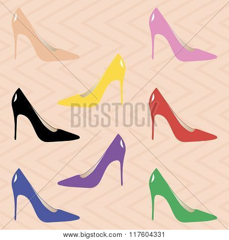 Classic High Heel Pumps For Women