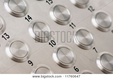 Apartment Intercom Buttons