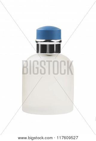 luxury perfume bottle isolated on white