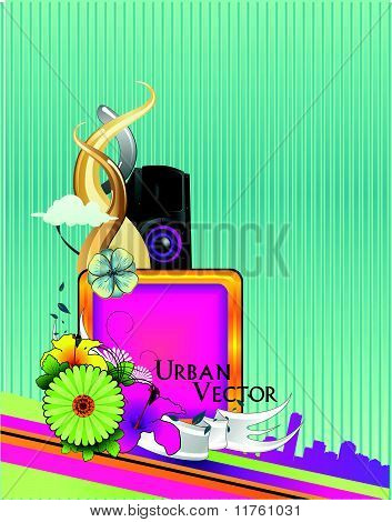 abstract urban vector illustration