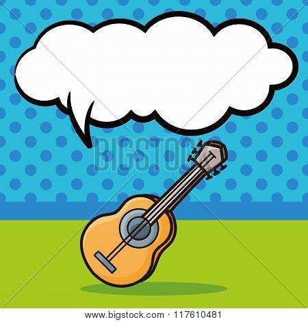 Musical Instrument Guitar Doodle