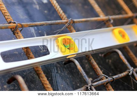 Spirit Level Using Or Home Construction