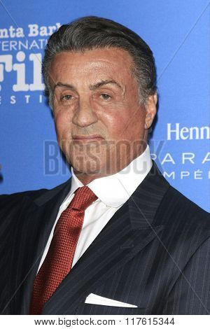 SANTA BARBARA - FEB 9: Sylvester Stallone at the Montecito Award at the Arlington Theatre at the 31st Santa Barbara International Film Festival on February 9, 2016 in Santa Barbara, CA