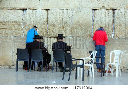 Wall of Tears. Israel. Jerusalem.