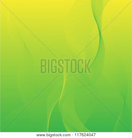 greenish-yellow background