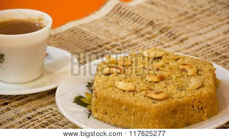 Cucumber Cake Is A Traditional Goan Style Steamed Cake And It Is Also Called Tavsali.