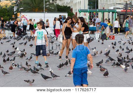 Greece Thessaloniki Downtown