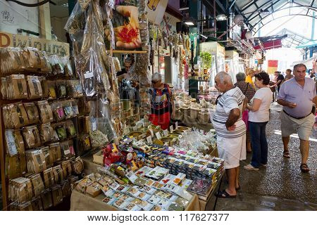 Greece Thessaloniki Modiano Market