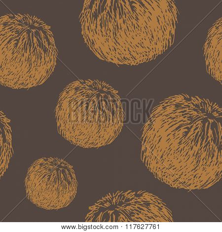 Abstract vector background. Hand drawn.