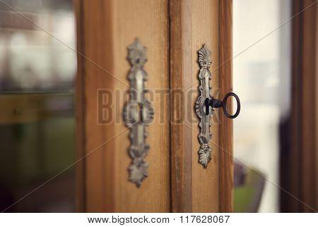 Keyole Of A Cabinet