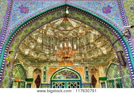 Entrance Of Zaid Mosque In Tehran Grand Bazaar - Iran