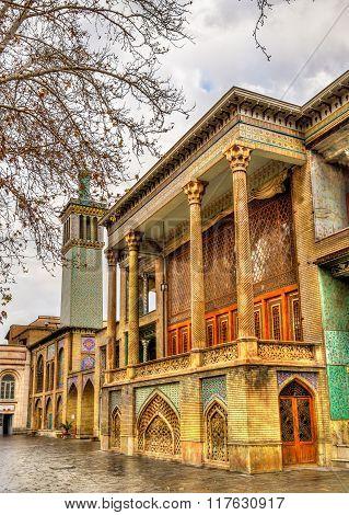 Golestan Palace, A Unesco Heritage Site In Tehran, Iran